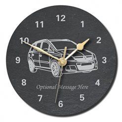 Slate Clocks Cars