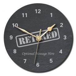 SLate Clocks Novelty